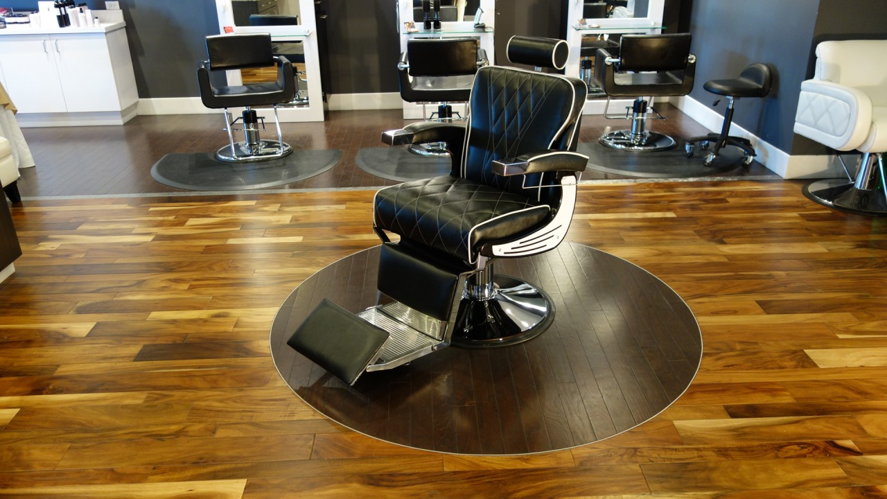 PureSana proudly introduces our most luxurious barber chair ever...The Barbury.