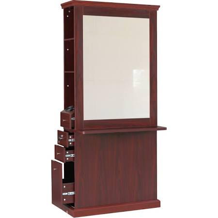 Newbridge Styling Station Mahogany - 923197